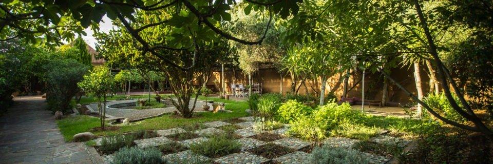 Bienvenue au Jardin bio-aromatique de l'Ourika